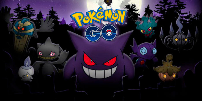 Pokémon GO tercera generación Halloween