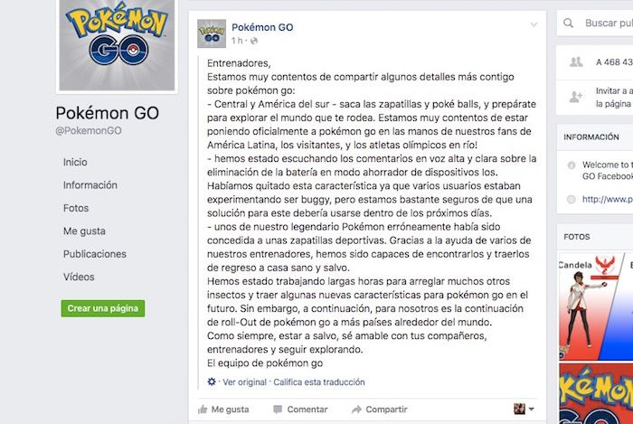 pokemon go latinoamerica