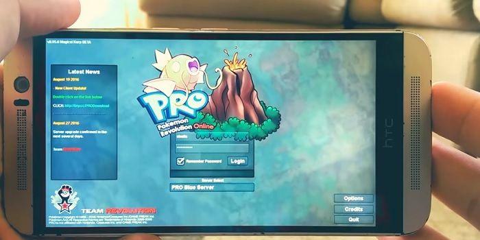 pokemon online para android