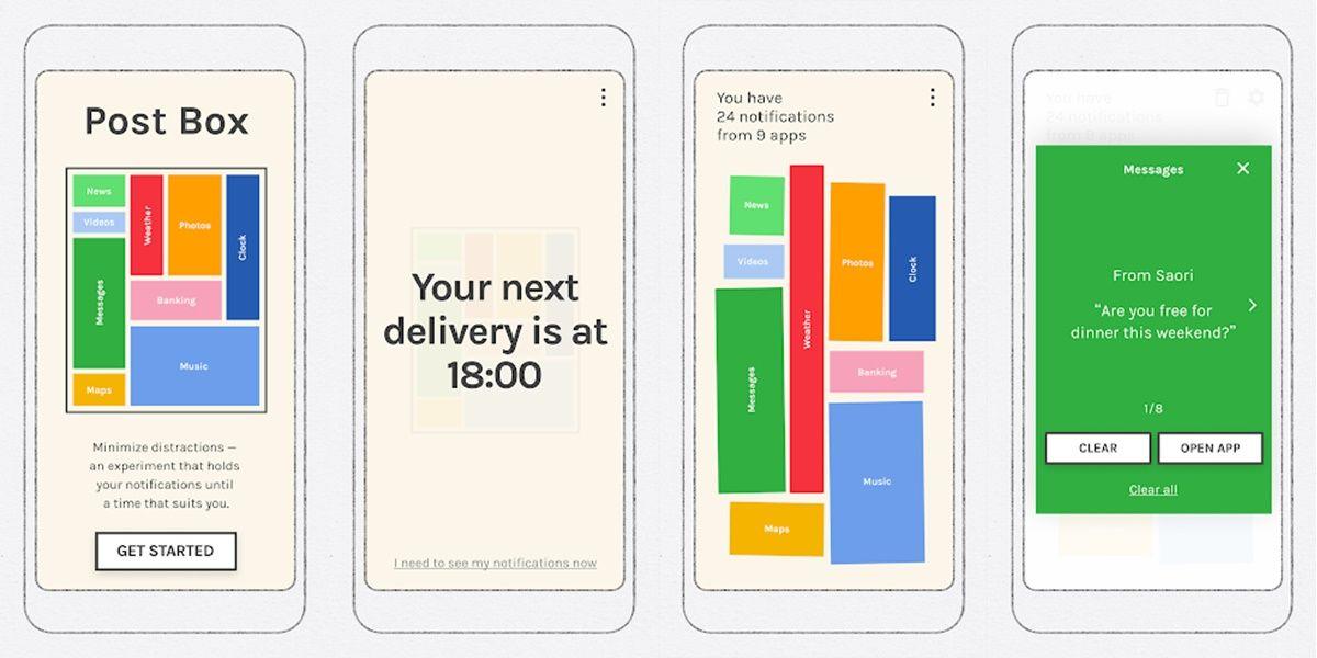 post box app