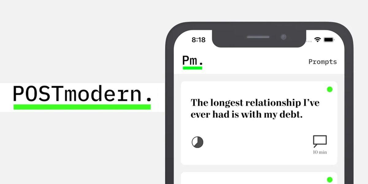 postmodern app para hablar de todo
