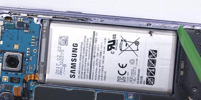 precio cambiar bateria galaxy s8 samsung