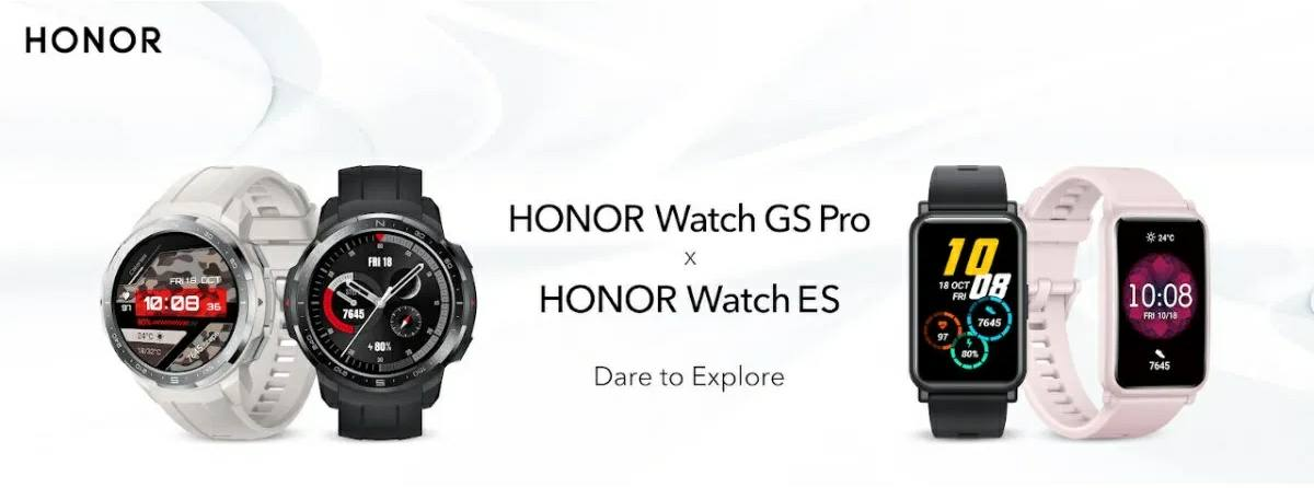 precio de los honor watch gs pro y honor watch es