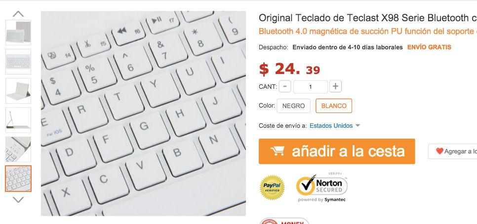 precio teclast x98