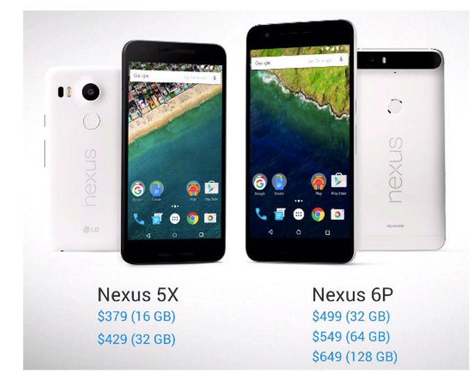 precios nuevos nexus 2015