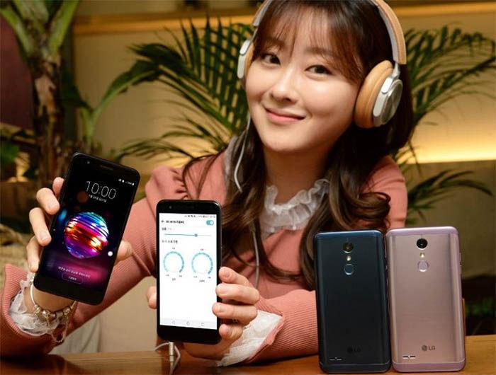presentacion del LG X4 Plus