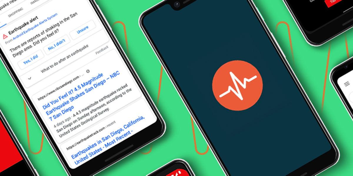 prevenir terremotos en android