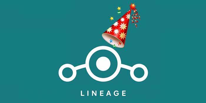 primer cumpleanos Lineage OS