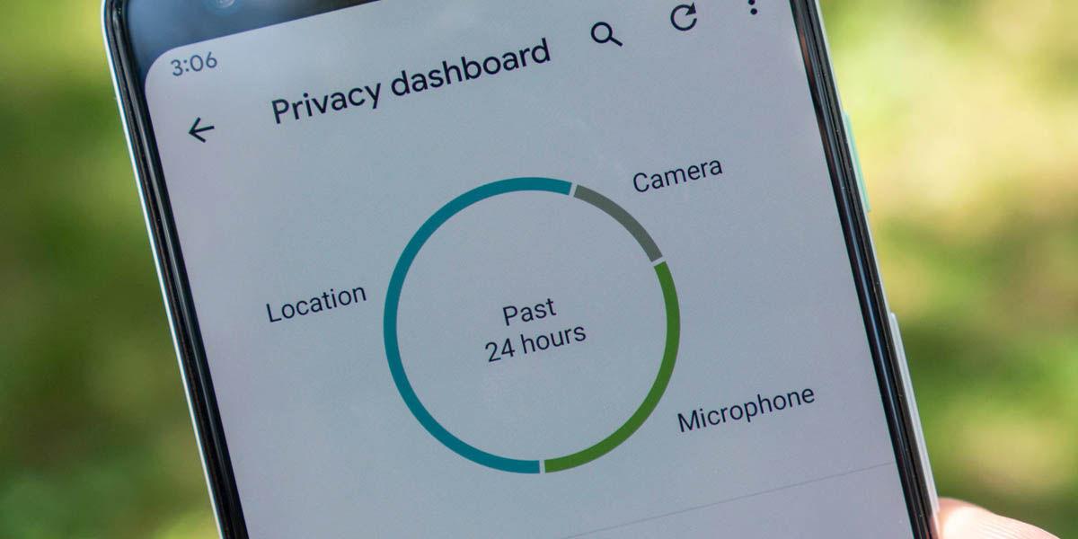 privacidad android 12