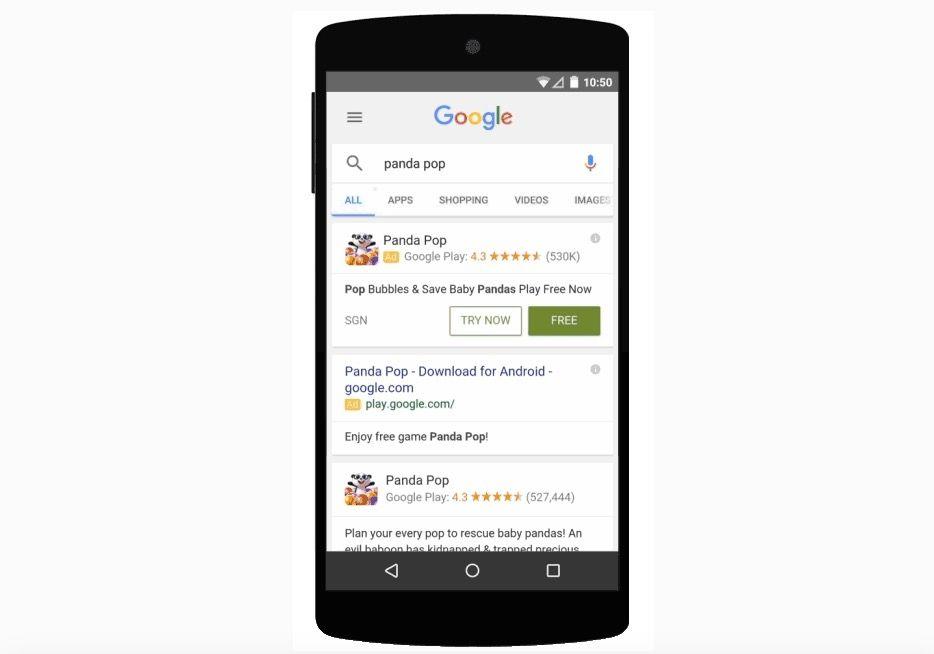 probar juegos sin descargar google play