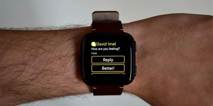 problemas de notificaciones en el Fitbit