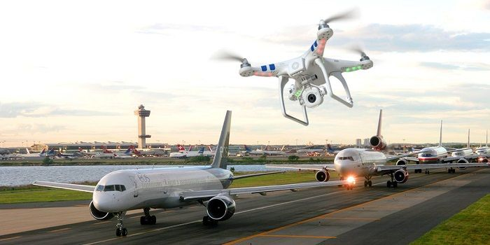 problemas drones aeropuerto dji
