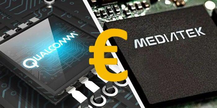 procesador 5g mediatek qualcom precios