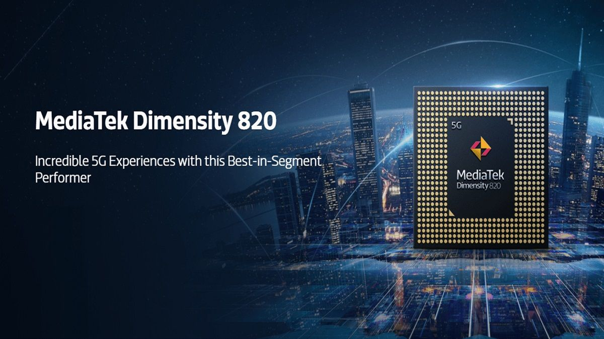 procesador mediatek dimensity 820