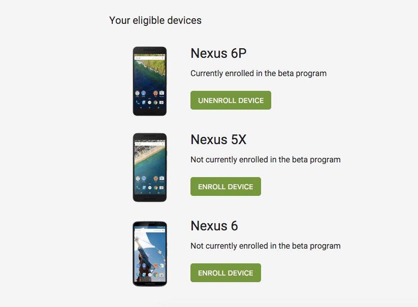 programa beta preview nexus