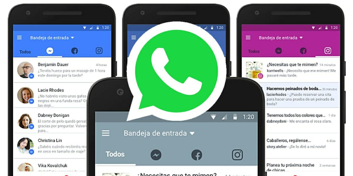 pronto podras responder los whatsapp desde facebook pages