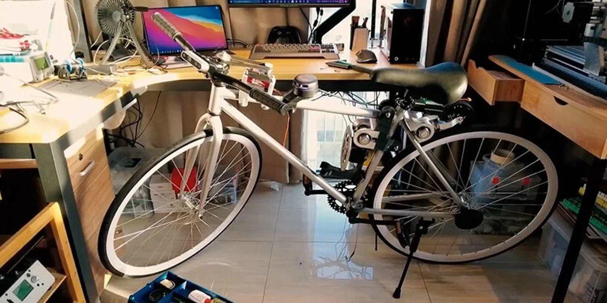 prototipo de bici autonoma de huawei