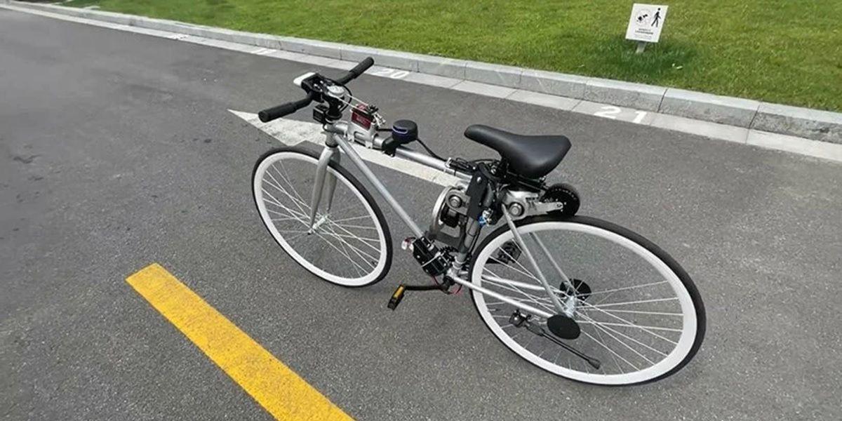prototipo de bicicleta autonoma de huawei