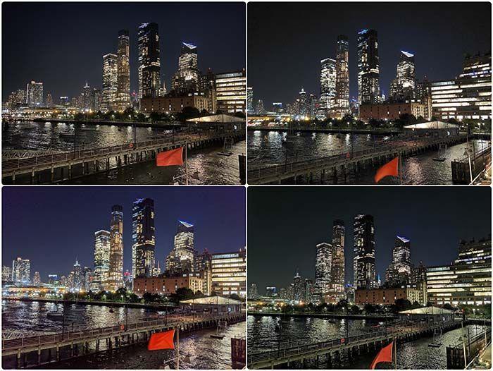 prueba de noche fotos iphone 11 galaxy note 10 huawei p30 pro pixel 3