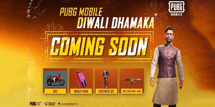 pubg mobile diwali dhamaka