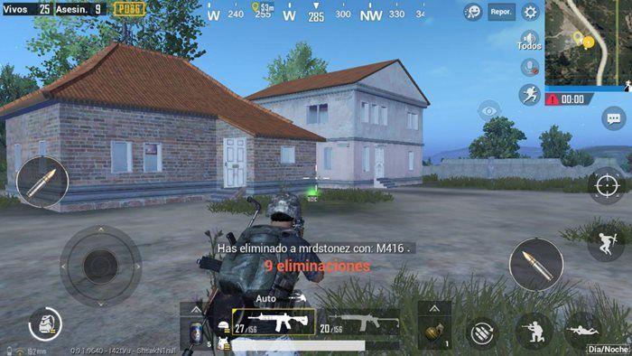 pubg mobile eliminar enemigos