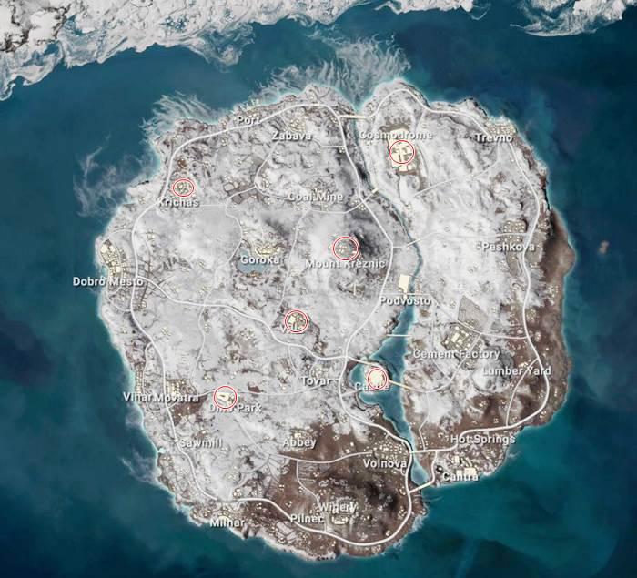 pubg mobile mapa vikendi