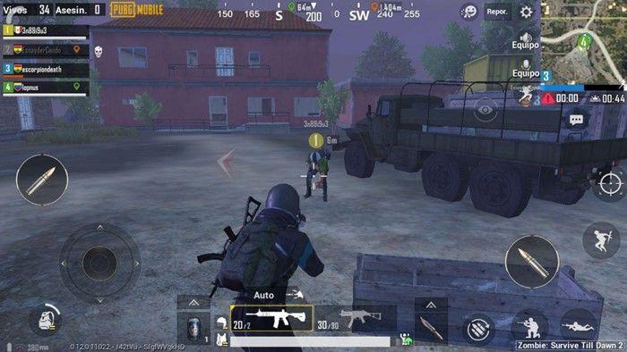 pubg-mobile-modo-zombie-2-loot-de-enemigos