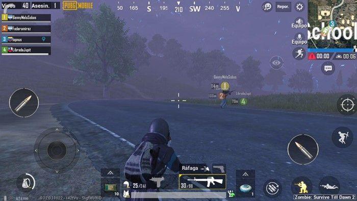 pubg-mobile-modo-zombie-2-trabajo-en-equipo