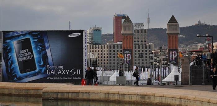publicidad del Galaxy S2
