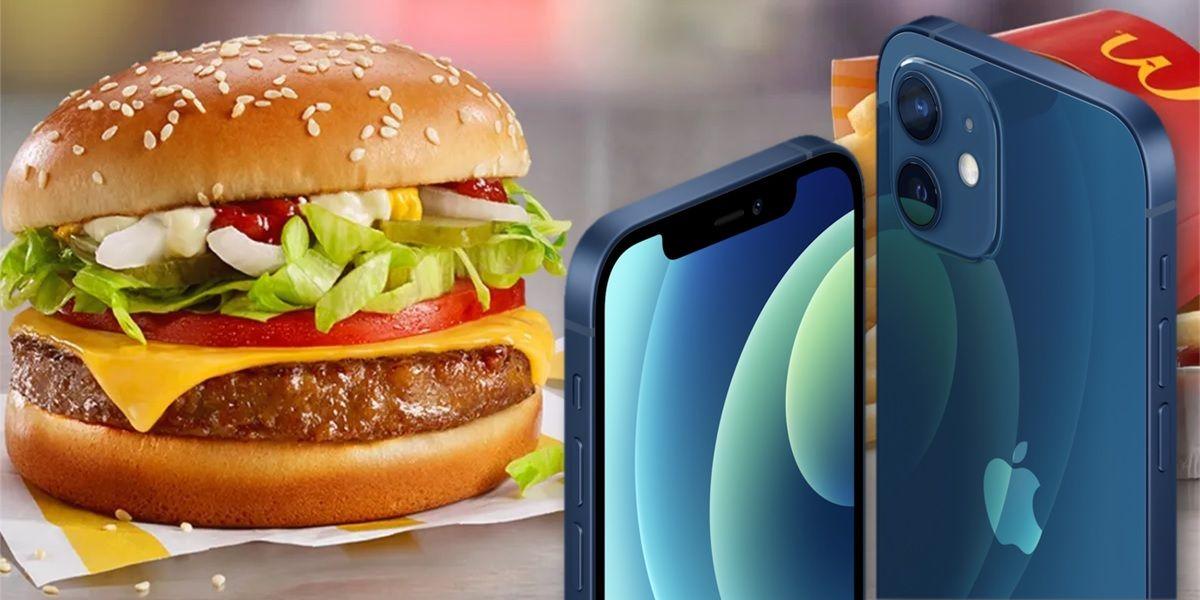 puedes pedir tu iphone con una hamburguesa en alemania