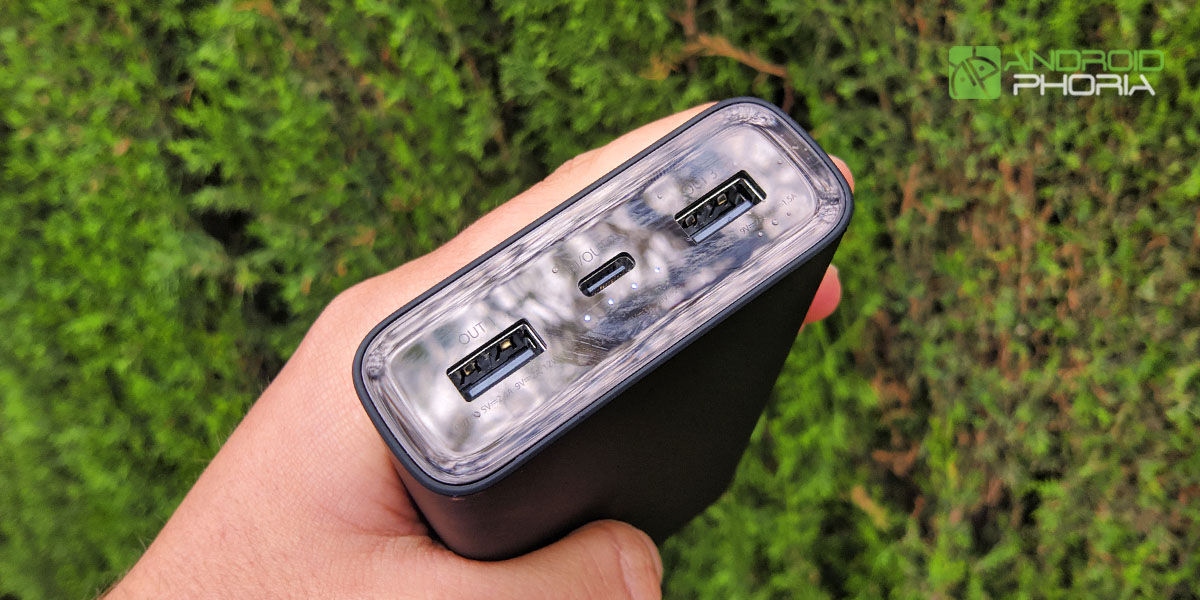 puertos carga xiaomi mi power bank 3