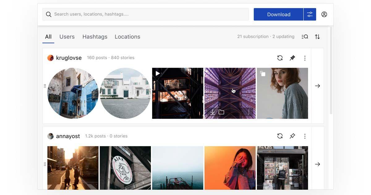 qoob stories descargar videos e imagenes de instagram