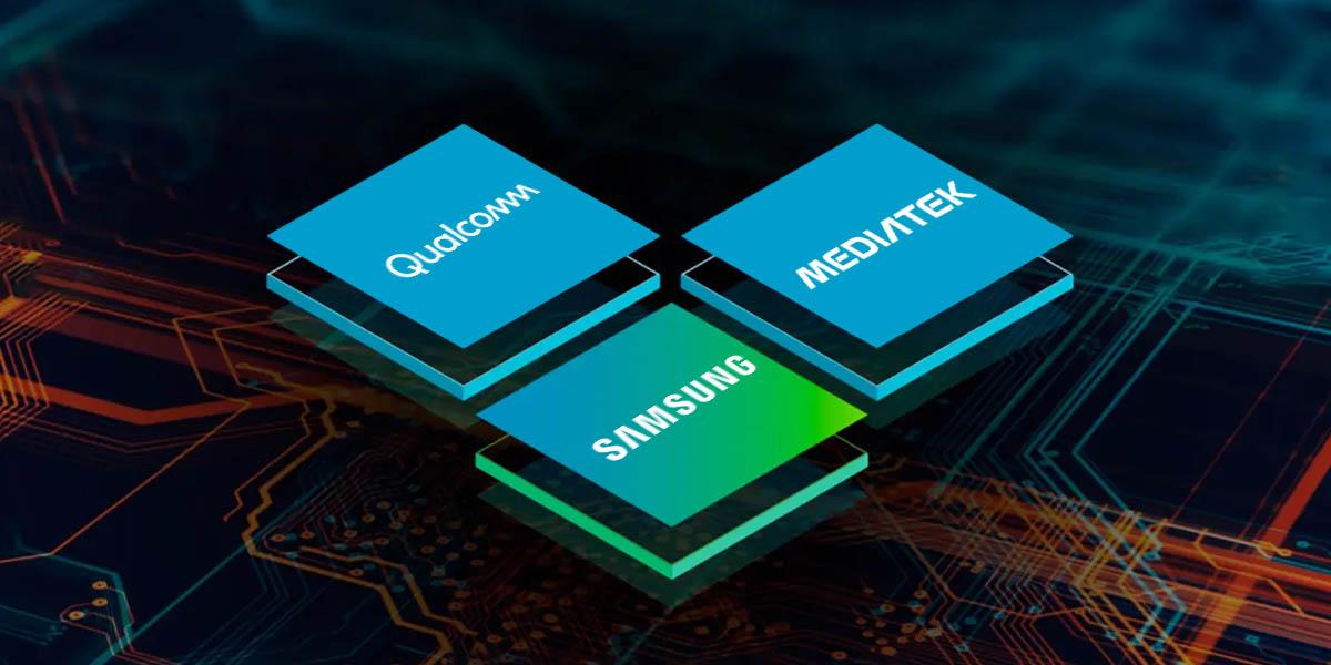 qualcomm samsung mediatek chips android