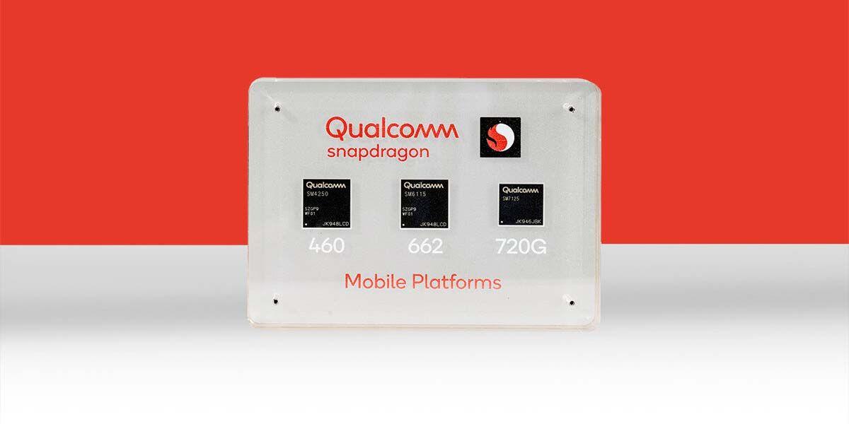 qualcomm snapdragon 720G, 662 y 460 especificaciones