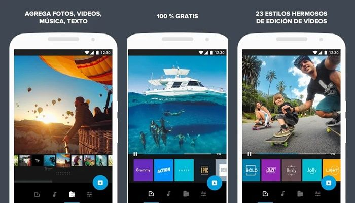 quik editor video app Android