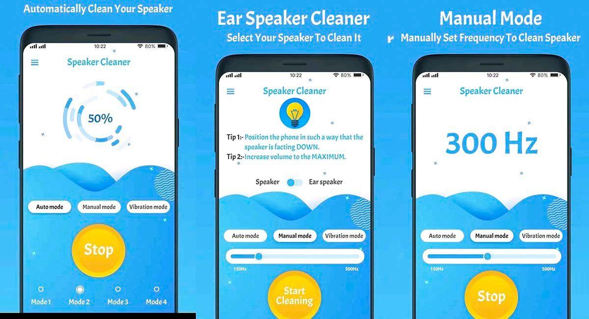 quitar el agua retenida en el altavoz de tu móvil speaker cleaner