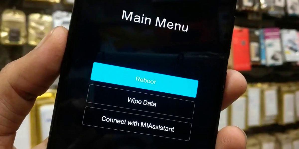 quitar modo fastboot usando recovery xiaomi redmi