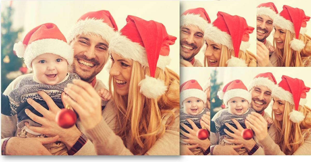 rafaga de fotos navidenas