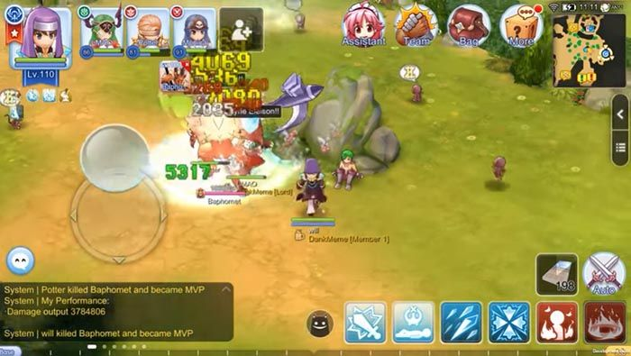 ragnarok android gameplay