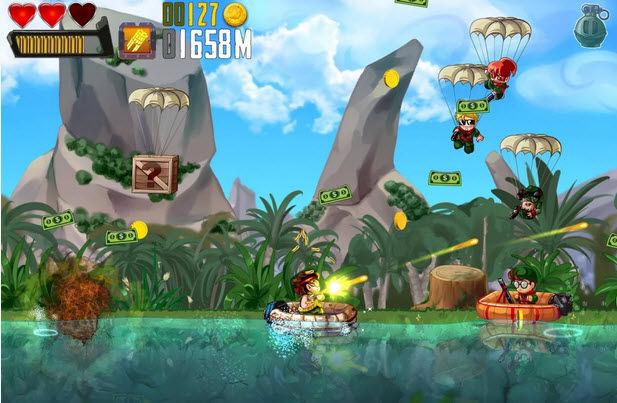 ramboat juego arcade accion android2