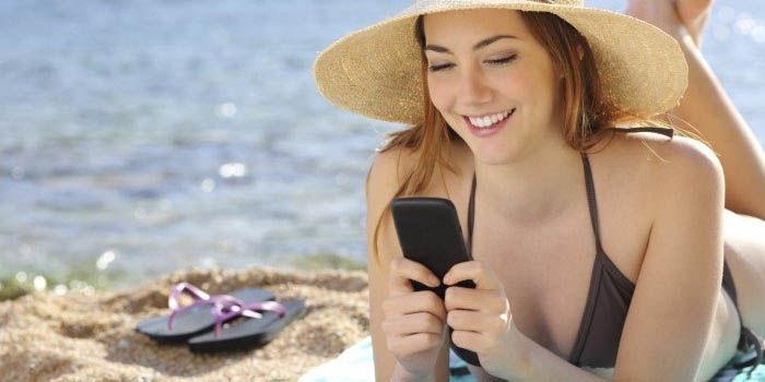 razones para no llevar tu movil a la playa