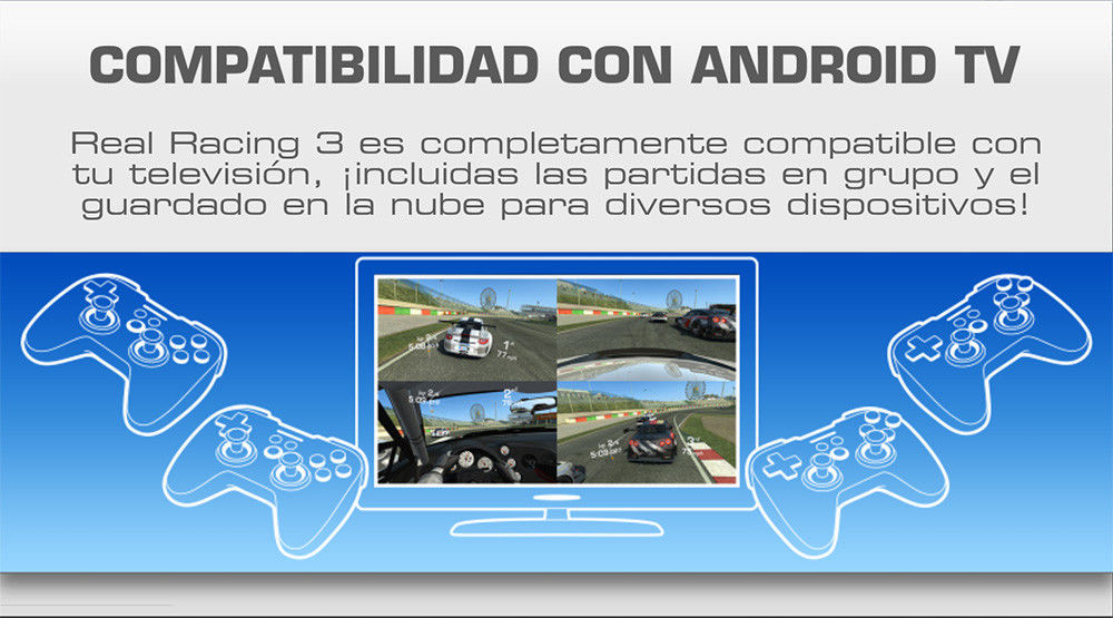 real racing 3 android tv