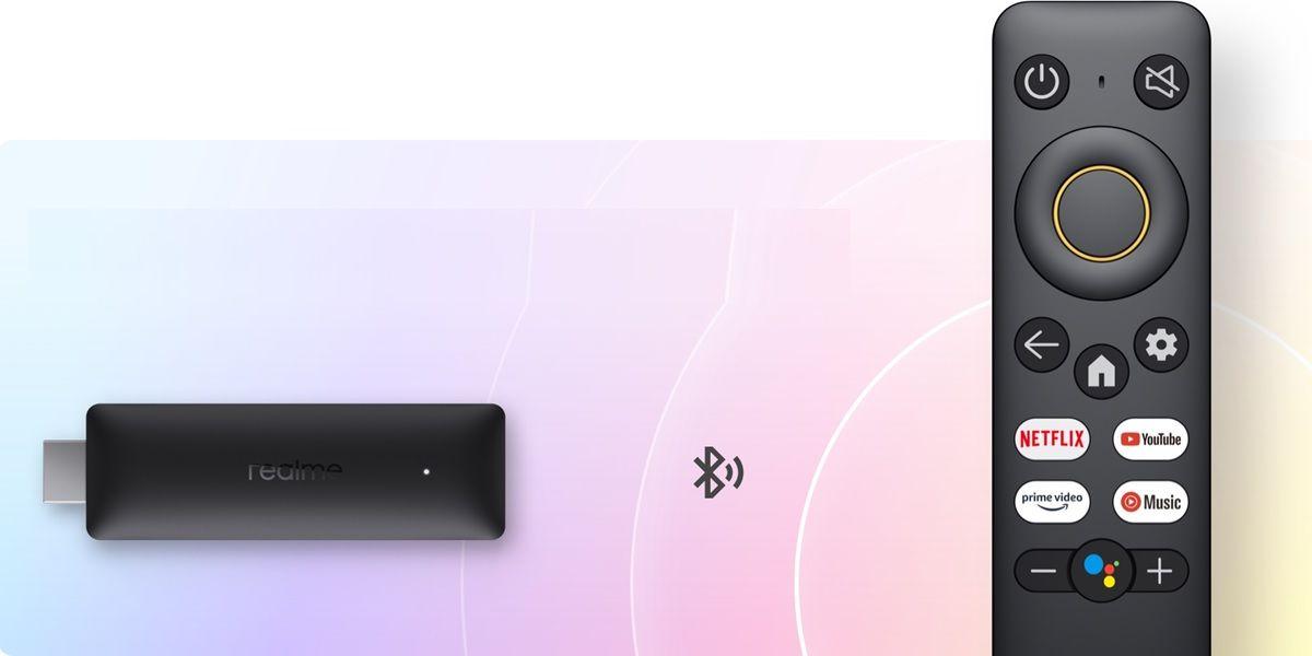 realme 4k smart google tv mando