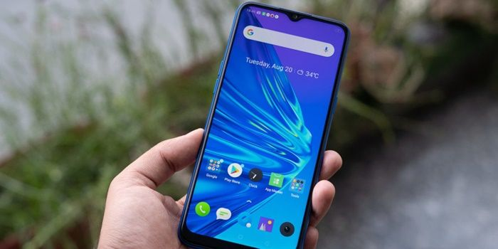 realme 5 android 10