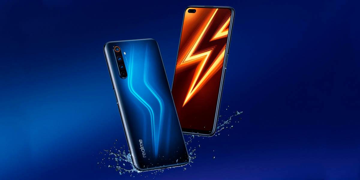 realme 6 pro mejor diseño pantalla gama media android 2020
