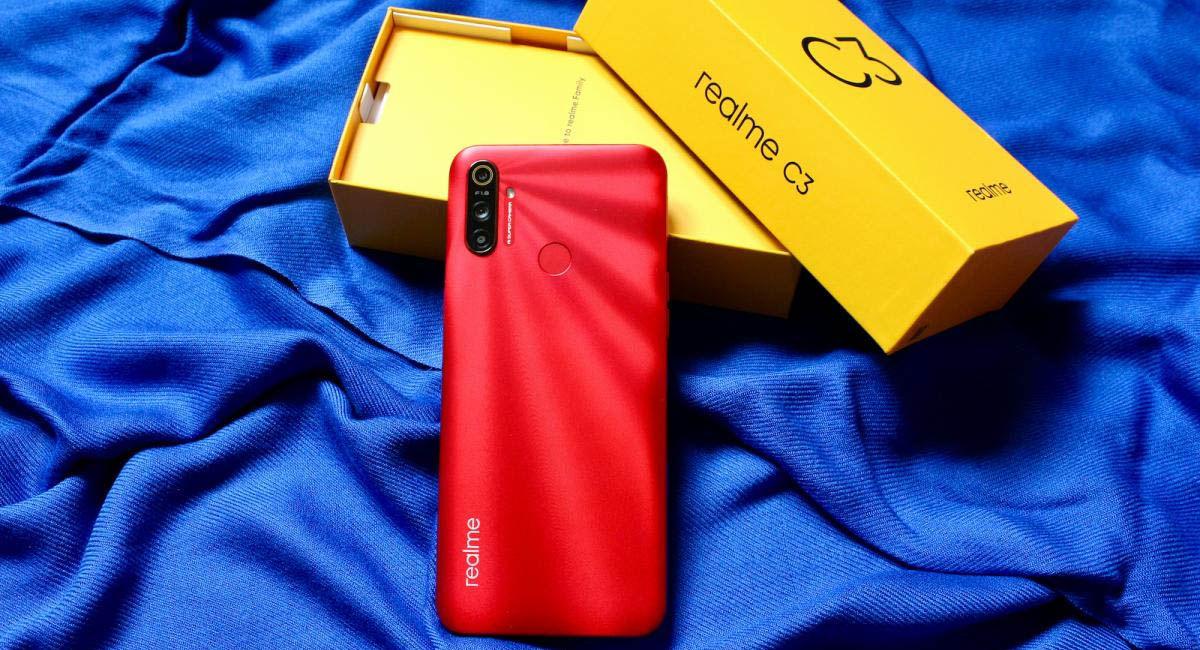 realme c3 móvil potente menos 100 euros