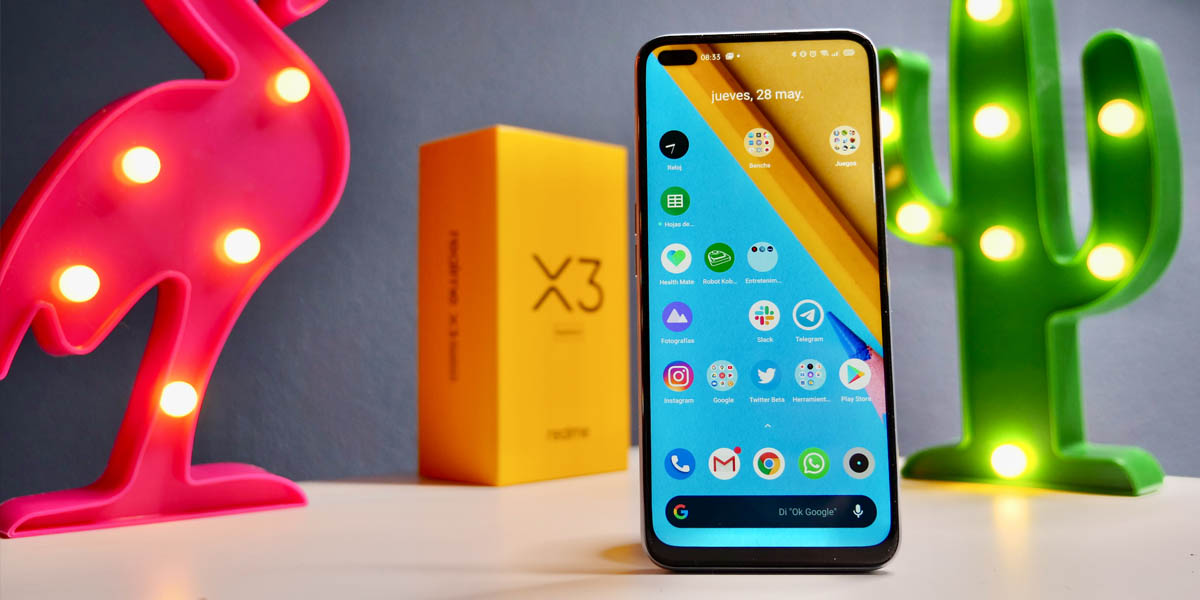 realme x3 super zoom móvil potente 4g si no quieres gastar en 5g