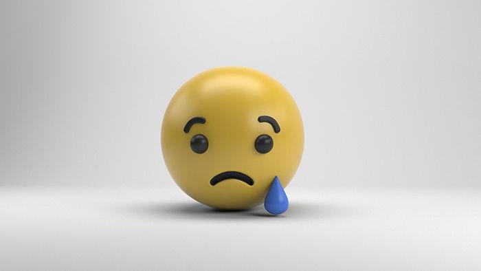 reccion de tristeza facebook