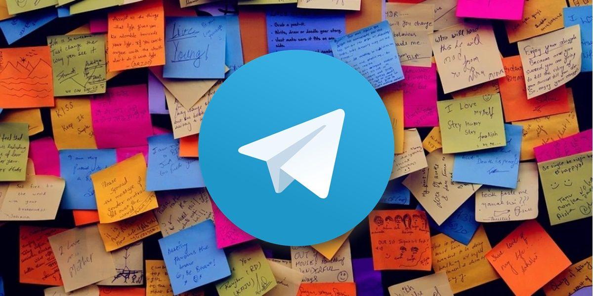 recuperar mensajes guardados de telegram