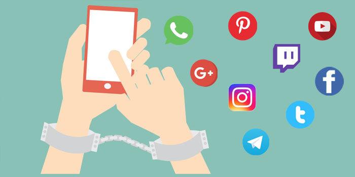 redes sociales adictos